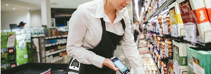 零售卖场手持数据终端应用