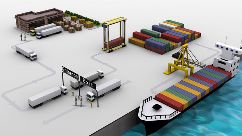 港口与联合运输