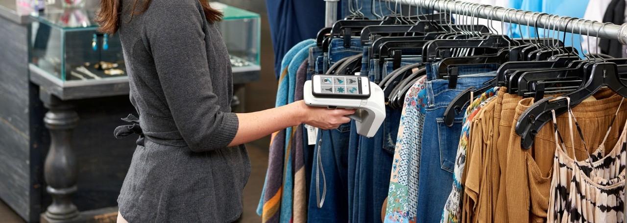 RFID手持设备服装卖场方案