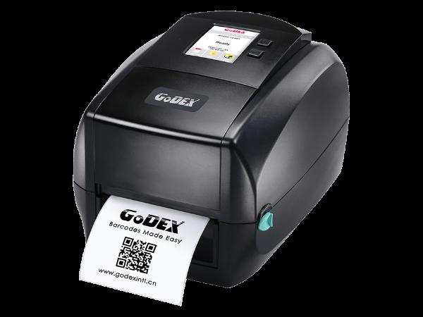 RT863i 桌上型高分辨率 触控智慧条码打印机