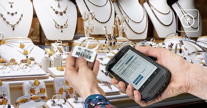 珠宝制造业如何通过条码来管理商品样品