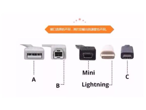 常见条码打印机接口以及条码打印机接口特性使用环境