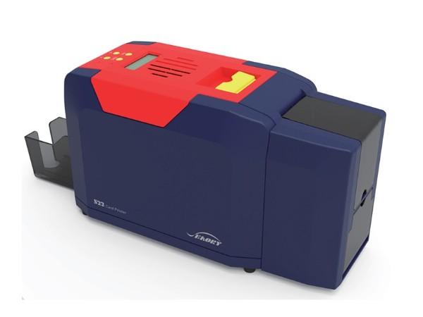 飒瑞S22证卡打印机 桌面型双面打印